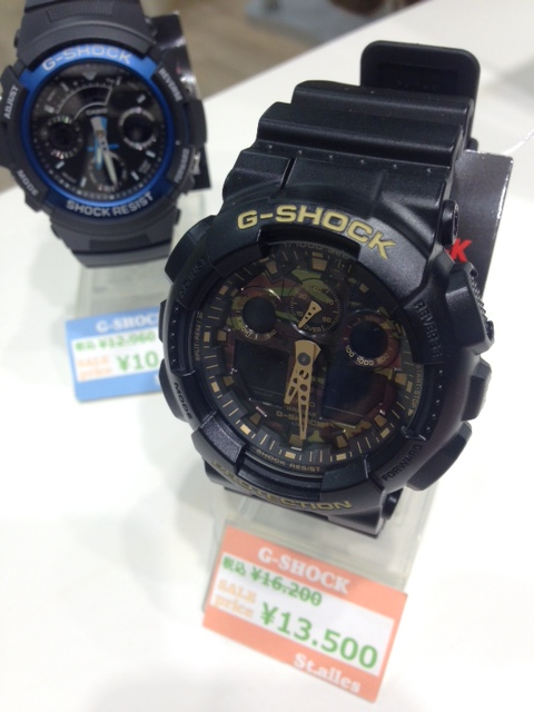 G-SHOCK 人気商品再入荷!!