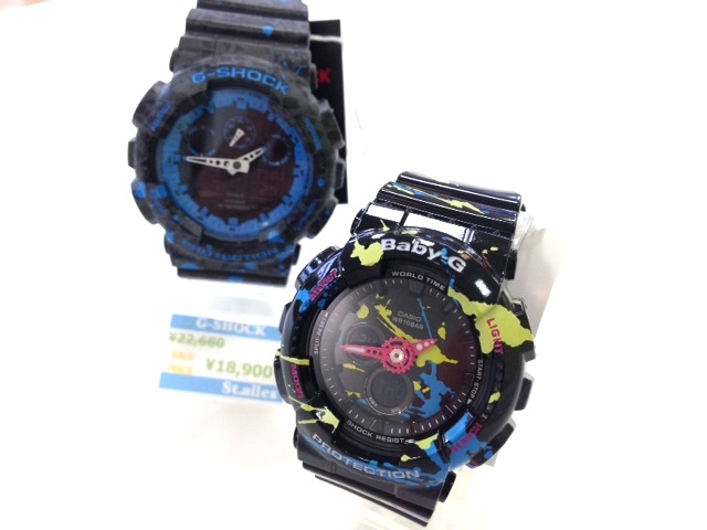 STASH×G-SHOCK!!